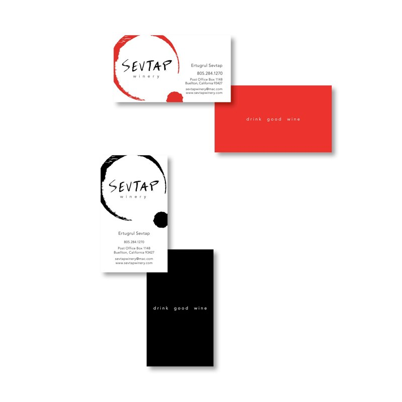 Sevtap Winery Collateral